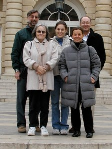 Nick, Barbara, Carla, Agnes, Jose-Maria