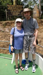 """We """"wandered into""""Nicaragua, just north of the border."""